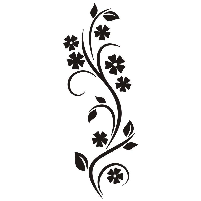 Niedlich Schwarzweiß Clipart Blumen Galerie - Kleider und Blumen ...